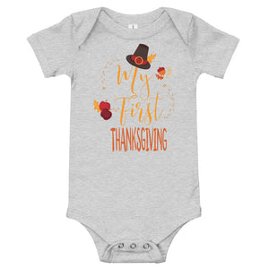 My First Thanksgiving Onesie - Stage 12