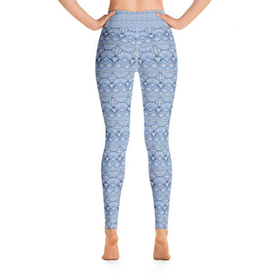 Snow Flake Winter Yoga Leggings - Stage 12