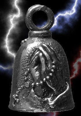 Guardian Bell Praying Hands