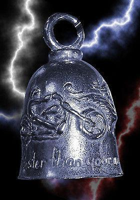 Guardian Bell Never Ride Faster Than Your Angel Can Fly - Daytona Bikers Wear
