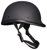 HF2304 NOVELTY Flat Black Jockey Helmet - Daytona Bikers Wear