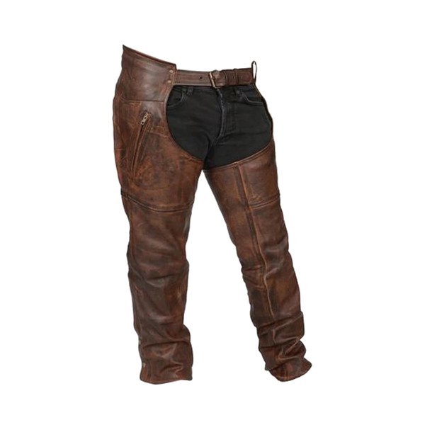 HM814VB Vintage Brown Chaps