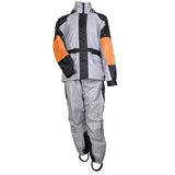 RS35 Unisex Rain Suit (Gray/Black & orange)