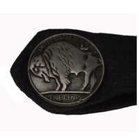 VA1224 Multi Colored Bead Buffalo Nickel Vest Extender