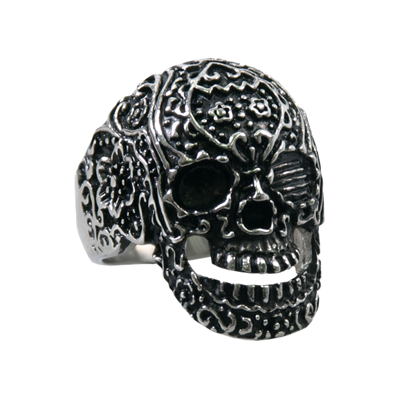 VJ1040 Stainless Steel Men's Tattoos Gone Wild Ring
