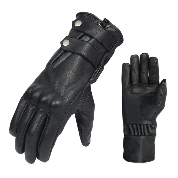 VL468 Vance Leather Premium Armored Gauntlet Glove