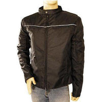 VL1562 Vance Leather Men's Vented Textile Jacket with Reflective Piping