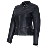 VL618 Vance Leather Ladies Premium Leather 3 Pocket Jacket