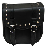 VS305 Vance Leather Small 2 Strap Studded Sissy Bar Bag - Daytona Bikers Wear