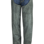 HM814DG Distressed Gray Chaps
