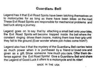 Guardian Bell Sport Bike Tricks - Daytona Bikers Wear