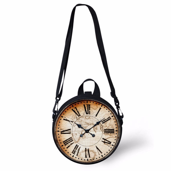 Kids round Versatile Clockface Shoulder Bag