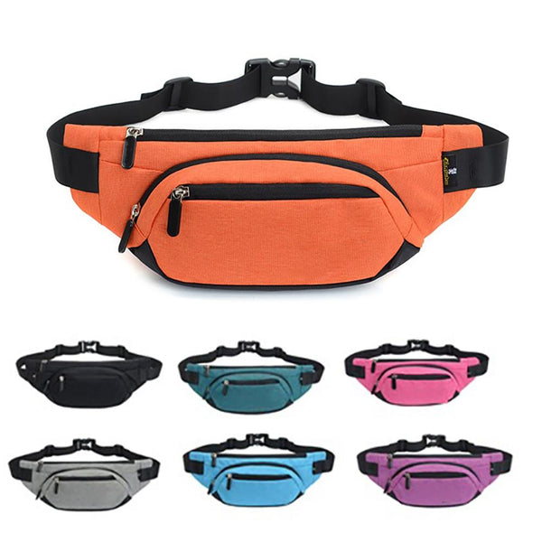 Versatile Sport Waterproof Waist Bag or Shoulder Bag