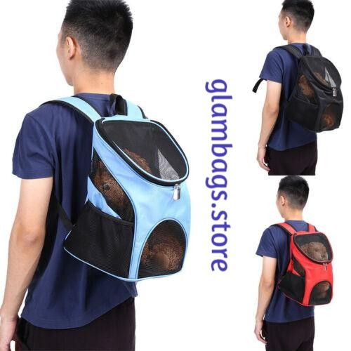 Pet Carrying Backpack with Mesh Windows