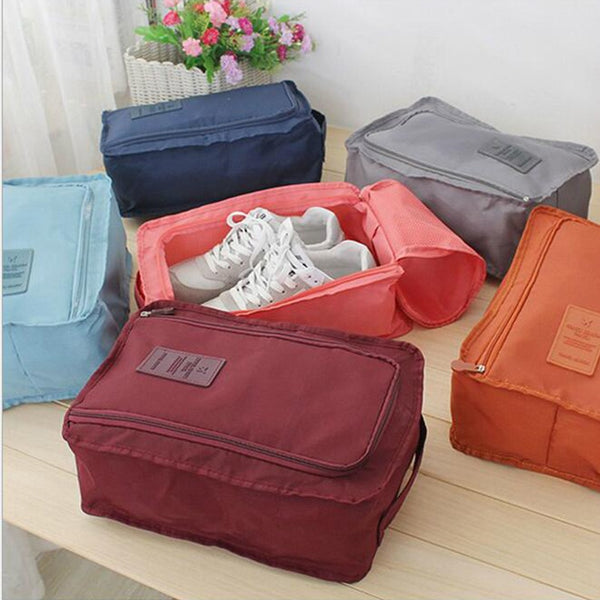 Nylon Waterproof Shoe Tote
