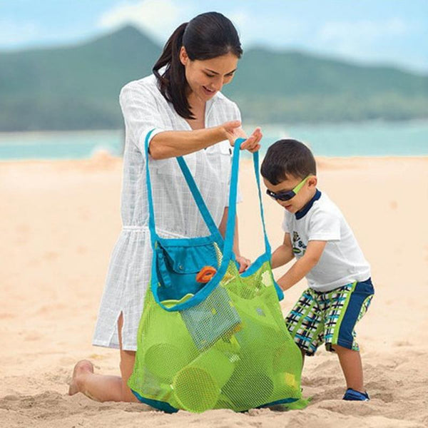 Mesh Beach Shoulder Tote