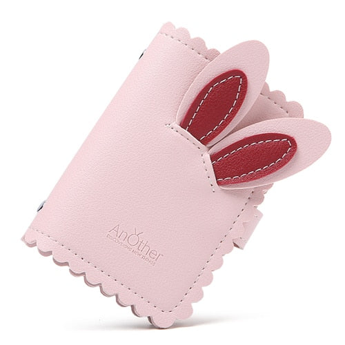 Cute Rabbit Ears Card Holder