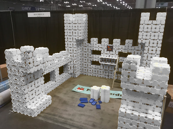 Fort building for... tradeshow booths?