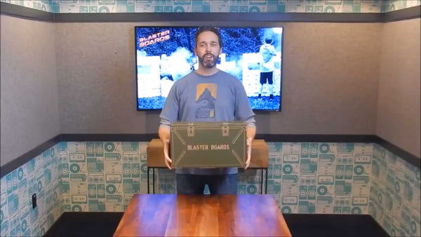 Blaster Boards UnBoxing Video