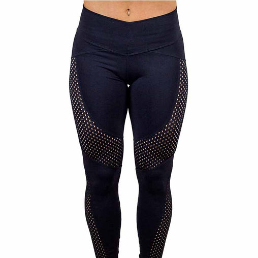 Women's Fitness Black Leggings