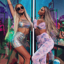 Load image into Gallery viewer, Glitter Holographic Two Piece Set
