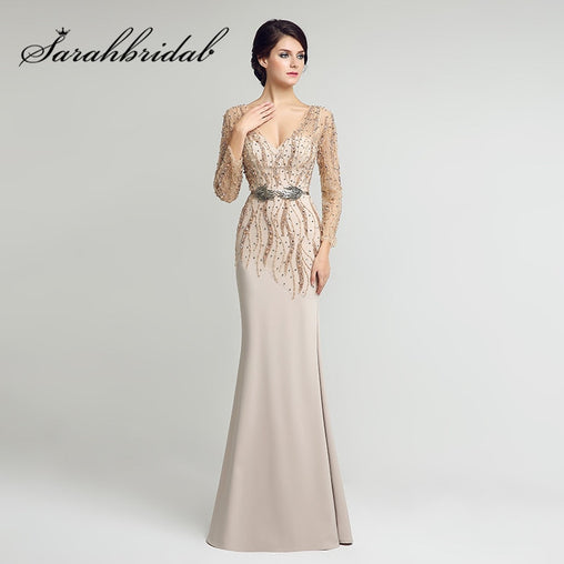 Long Sleeves Mother of the Bride Dresses