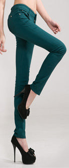Woman Skinny Slim Pencil Pants
