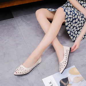 Shoes Shallow Flat Heel Shoes