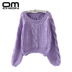 Women Twist Soft Casual Sweaters