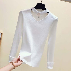 Basic Sweater Women Pullover