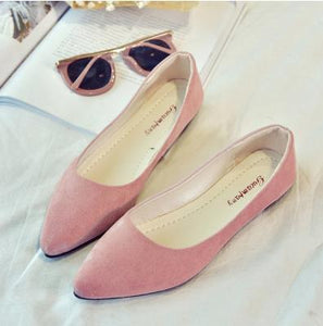 pearl shallow-mouthed chic shoes
