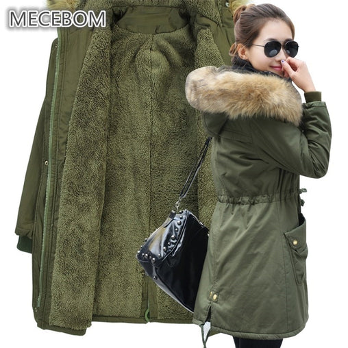 Women's Fur Collar Casual Outwear