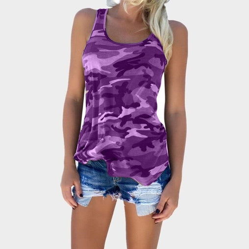Women's Casual Sleeveless Tank Top