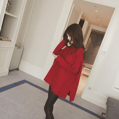 Women Oversized Long Sleeves Sweater