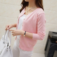 Women's Short design thin sweater