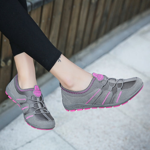 Women's Elastic Band Sneakers
