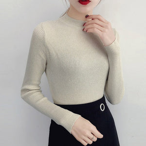 Women Basic Pullover Sweaters