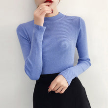 Load image into Gallery viewer, Women Basic Pullover Sweaters