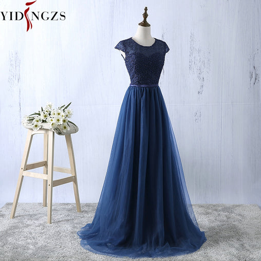 Women's Embroidery Prom Dress