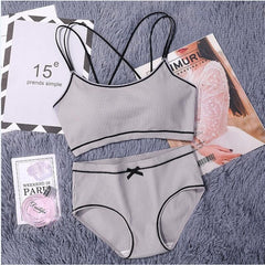 Women's Japanese Lingerie Set Cotton