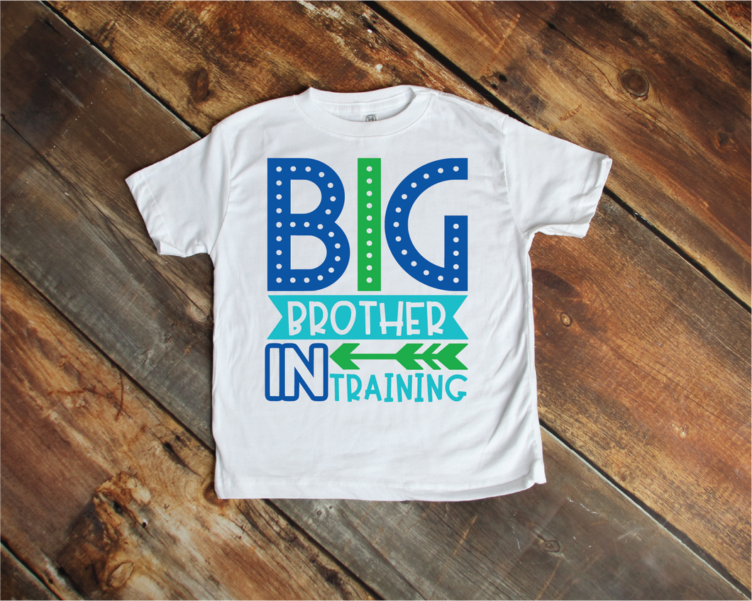 Big Brother in Training Child Tee