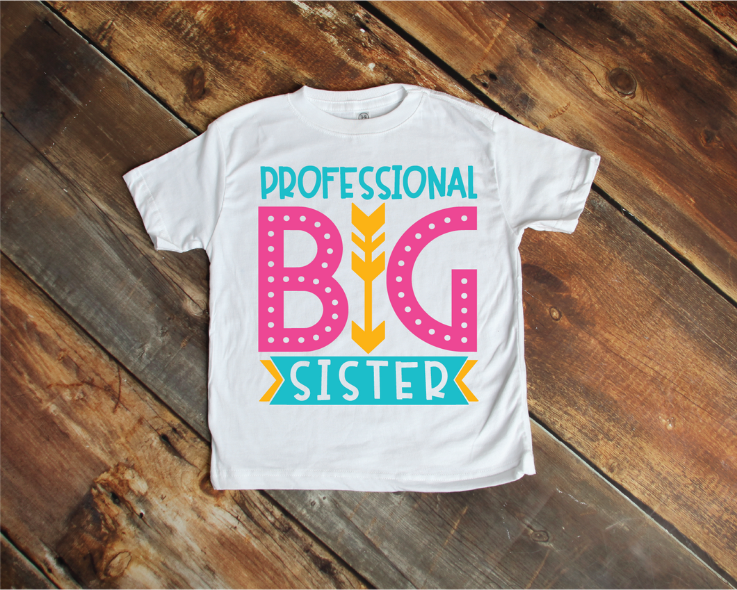 Professional Big Sister Child Tee