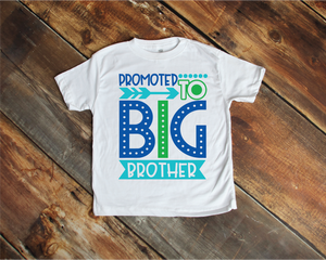 Promoted to  Big Brother Child Tee