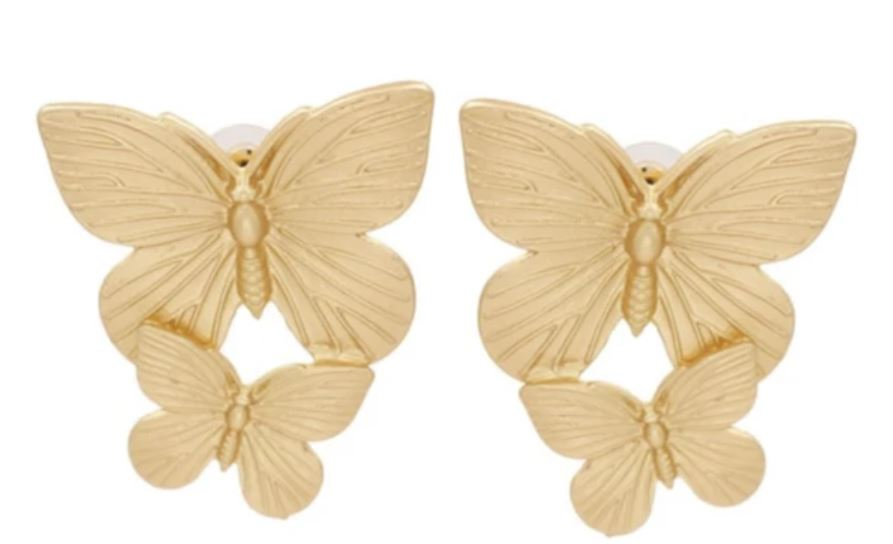 Accessory Concierge Double Butterfly