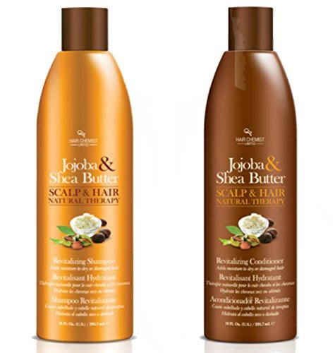 Hair Chemist Jojoba & Shea 2-Piece 10 oz. Shampoo and Conditioner Set