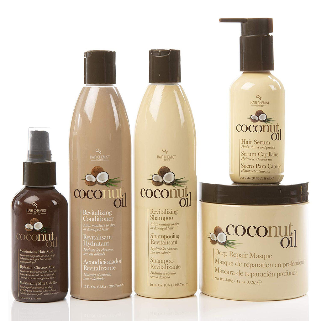 Hair Chemist Penultimate Coconut Hair Collection - Deluxe 5 Piece Set