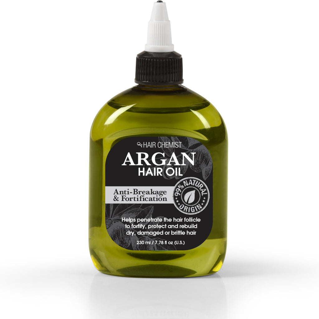 Hair Chemist 99% Natural Hair Oil - Argan Oil 7.78 oz.
