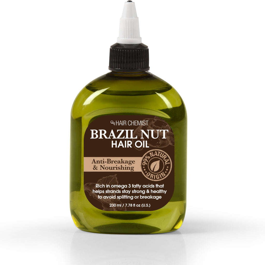 Hair Chemist 99% Natural Hair Oil - Brazil Nut Oil 7.78 oz.