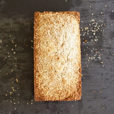 Espresso, Toasted Coconut Banana Bread