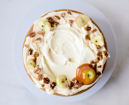 Sweet Potato Cake with Caramel Frosting (Pick Up / Delivery)